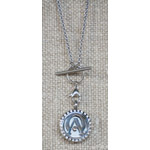 AO Signature Aroma Locket Necklace With Crystals