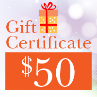 Gift Certificates ~ $50.00