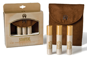 Stampede ~ 3 AO Travelers ™ with Suede Travel Pouch