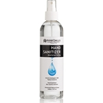 Hand Sanitizer 80% Alcohol.<br>Moisturizing-Unscented-Refillable<br>Liquid Rub. Natural Spray 8 fl oz