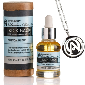 Kick Back Pure Essential Oil with Aroma Locket