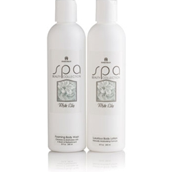 White Lily Foaming Body Wash
