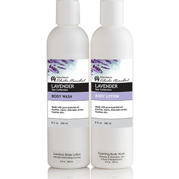 Soothing Lavender Spa Gift Set