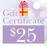 Gift Certificates ~ $25.00